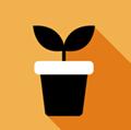 Icono de jardinería