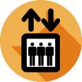 Icono de mantenimiento de ascensores