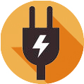 Icono de Instalaciones eléctricas