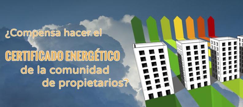 Certificado energético para comunidades de propietarios