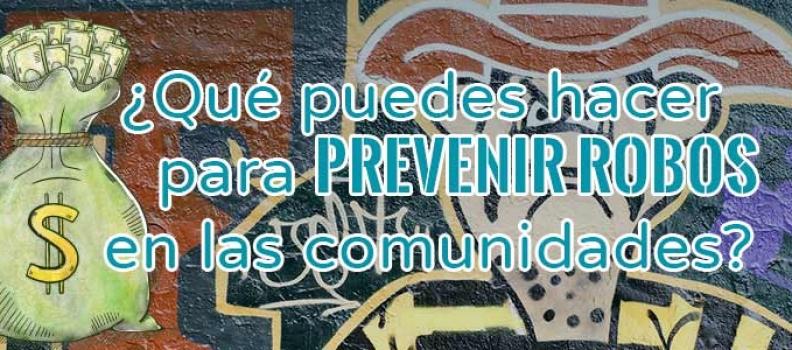 Prevenir robos en las comunidades de propietarios