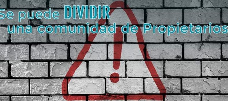Dividir la comunidad de propietarios: la república independiente de mi escalera